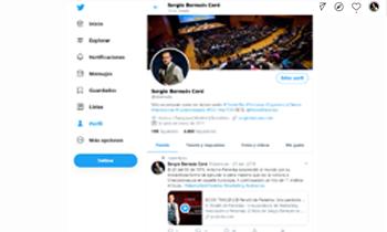 Twitter de Sergio Bernués